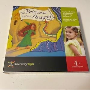 The Princess and the Dragon Game sealed ages 4 and up